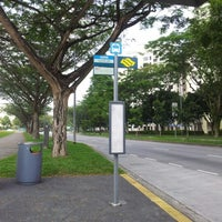 Photo taken at Bus Stop 46999 @ Opp Blk 589 by Max M. on 10/10/2012