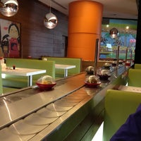 Photo taken at Yo! Sushi by Talal A. on 9/28/2012