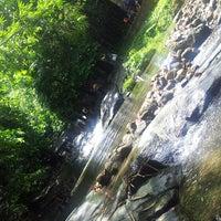 Photo taken at Air Terjun Sg. Gabai (Waterfall) by Syazwana J. on 3/16/2013