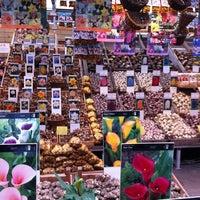 Photo taken at Flower Market by Alexandra on 10/20/2012