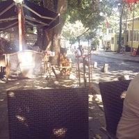 Photo taken at Çınar Altı Cafe by Sinem K. on 8/18/2016