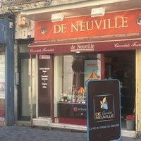 Photo taken at Chocolaterie De Neuville by Luc F. on 4/22/2017