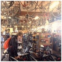 Photo taken at Recycled Cycles by Yuriy C. on 3/23/2014