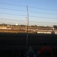 Photo taken at Belleville Highbanks Raceway by Shellby B. on 9/2/2013