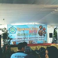 Photo taken at SMP Negeri 1 Bogor by belva. r. on 3/24/2013
