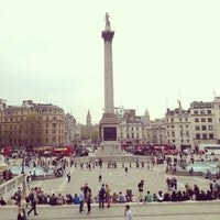Photo taken at Trafalgar Square by Fonwa L. on 5/7/2013