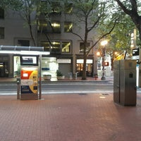 Photo taken at TriMet SW 6th & Pine St MAX Station by Chuff T. on 9/10/2016