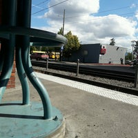 Photo taken at TriMet E 122nd Ave MAX Station by Chuff T. on 9/7/2016