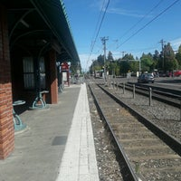 Photo taken at TriMet E 122nd Ave MAX Station by Chuff T. on 9/8/2016