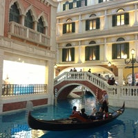 Photo taken at The Venetian Macao by Ivana L. on 2/13/2013