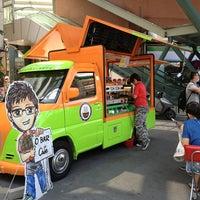 Photo taken at O Bar 行動咖啡館 by Ivana L. on 8/3/2013
