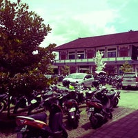 Photo taken at SMKN 4 Denpasar by Gomgom P. on 1/25/2014