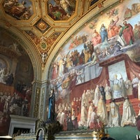 Photo taken at Sala dell'Immacolata Concezione by Gri on 1/29/2018