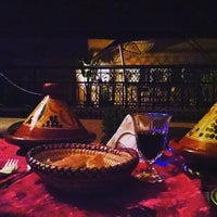 Photo taken at Riad Agdim by Moisés M. on 5/12/2015