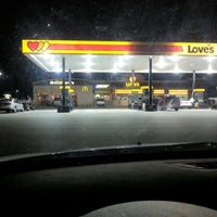 Photo taken at Love's Travel Stop by Vickie D. on 11/21/2012