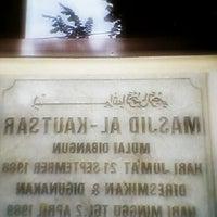 Photo taken at Masjid Al-Kautsar by Ikhsn Q. on 7/2/2013