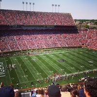 Photo taken at Pat Dye Field at Jordan-Hare Stadium by Tyler B. on 5/7/2013
