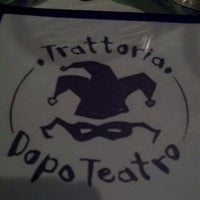 Photo taken at Trattoria Dopo Teatro by Keef M. on 1/4/2014