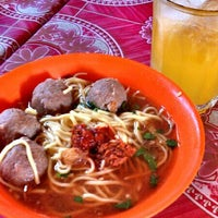 Photo taken at Bakso Awang Long by Panji A. on 4/24/2013