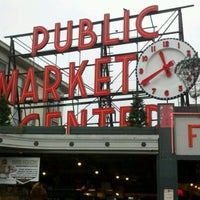 Photo taken at Pike Place Fish Market by George D. on 1/6/2013
