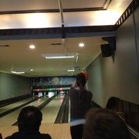 Photo taken at Southport Lanes & Billiards by Nancy V. on 3/30/2013
