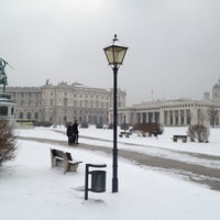 Photo taken at Austrian National Library by Pascale U. on 2/22/2013
