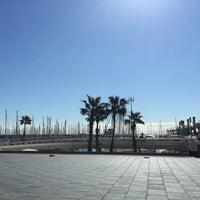 Photo taken at Escuela Nautica Port Olimpic De Barcelona by Pascale U. on 3/26/2015