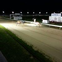 Photo taken at Henlow Dog Stadium by Chris W. on 10/19/2013