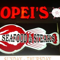 Photo taken at Popei's Clam Bar by Sobe M. on 3/28/2013