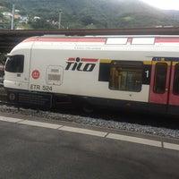 Photo taken at Stazione di Bellinzona by Paul S. on 8/10/2017