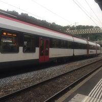 Photo taken at Stazione di Bellinzona by Paul S. on 7/20/2017