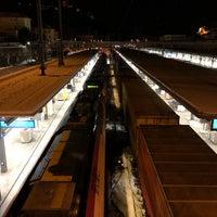 Photo taken at Stazione di Bellinzona by Paul S. on 12/21/2017