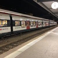 Photo taken at Stazione di Bellinzona by Paul S. on 10/27/2017