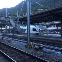 Photo taken at Stazione di Bellinzona by Paul S. on 7/25/2017