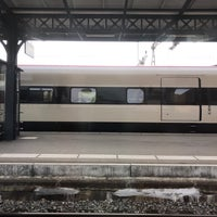 Photo taken at Gare de Delémont by Paul S. on 1/29/2018