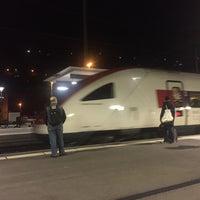 Photo taken at Stazione di Bellinzona by Paul S. on 10/3/2017