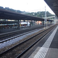 Photo taken at Stazione di Bellinzona by Paul S. on 7/12/2017