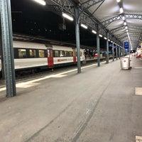 Photo taken at Stazione di Bellinzona by Paul S. on 11/30/2017