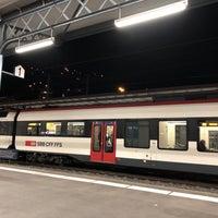 Photo taken at Stazione di Bellinzona by Paul S. on 12/5/2017