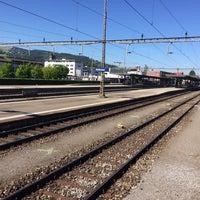 Photo taken at Bahnhof Rotkreuz by Paul S. on 5/17/2017