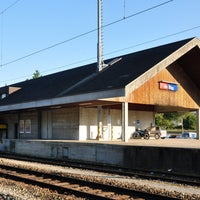 Photo taken at Bahnhof Elgg by Paul S. on 10/3/2013