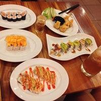 Photo taken at Sushi Miya8i by Rangga E. on 4/4/2015