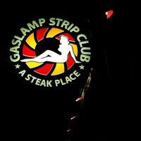 Photo taken at Gaslamp Strip Club Restaurant by Jennifer C. on 8/21/2013