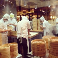 Photo taken at Din Tai Fung by Shonika on 1/6/2013