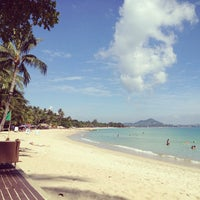 Photo taken at Chaweng Noi Beach by Shonika on 1/8/2013