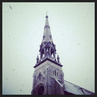 Photo taken at St. Patrick's Basilica by Gregory P. on 2/14/2014