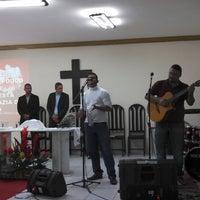 Photo taken at Igreja Episcopal Carismatica - Cat. Avivamento by Leonardo C. on 4/7/2013