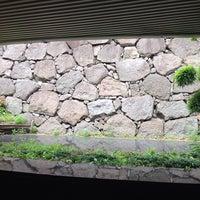 Photo taken at 江戸城外堀跡 展示室 by tetsuya on 6/23/2014