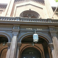 Photo taken at Flushing Town Hall by Carla R. on 6/23/2013