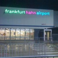Photo taken at Frankfurt-Hahn Airport (HHN) by Jackson H. on 10/8/2012
